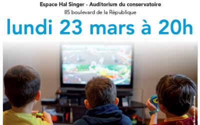 """Conférence-débat """"Nos enfants et les écrans"""" avec Sabine Duflo"""